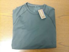 Patagonia Mens Capilene Midweight Crew Forge Grey Medium *New w/Tags*