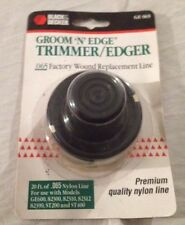 Black & Decker Model # GE-065 & RS-136 Factory Trimmer Replacement Line