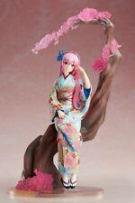 New in Box 26CM Megurine Luka Kimono Yukata Hanairogoromo PVC Action Figure toy