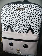 BETSEY JOHNSON LBLeo Full size backpack cat leopard NWT $88