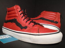VANS SK8-HI REISSUE ZIP LX BLENDS DESIGN S CHILI PEPPER RED WHITE SUPREME 9.5