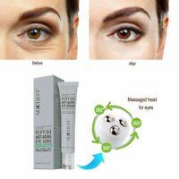 Peptide Ageless Eye Serum Cream Anti-Wrinkle Collagen Remove Dark Circles Care
