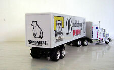 KENWORTH W900 Semi Truck Diecast 1:43 Scale Bundy Rum Custom Graphics
