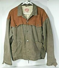 Australian OUTBACK Collection JACKET Denim / Suede Leather, lined, Mens XL, EXC!