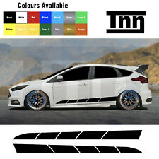 Ford Focus Fiesta St Rs Mk3 MK2 gráficos calcomanías Rayas Pegatinas 2.0 Turbo