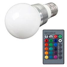 3W E27 RGB LED Birne Farbwechsel Lampe Glühbirne Licht mit Fernbedienung Bulb