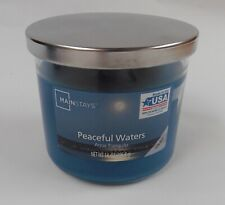 Mainstays 14oz Peaceful Waters Scented Candle - 3 Wick Candle