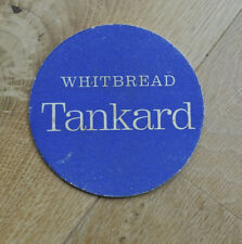 Vintage Beermat Coaster  from  1960's. Whitbread Tankard 'Quaich'