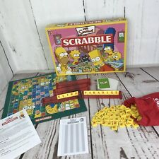 The Simpsons Scrabble Board Game By Mattel Games Complete