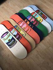 Andy Warhol Campbell's Soup Cans Skate Decks Set de Huit Ponts
