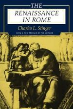 The Renaissance in Rome, by Charles L. Stinger, 1998 illustrated paperback
