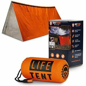 Life Tent Emergency Survival Shelter – 2 Person Emergency Tent – Use As Survi...
