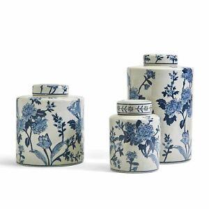 Japanese Blossom Tea Jar