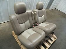 01-06 YUKON DENALI SEATS SECOND ROW CAPTAIN CHAIRS 412322
