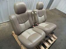 01-06 YUKON DENALI SEATS SECOND ROW CAPTAIN CHAIRS 412322