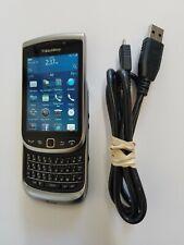 4G Blackberry Torch 9810 Keyboard Slider Flip Cell Phone For ATT Cricket H20