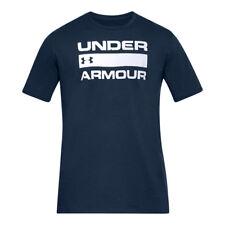 Under Armour Team Issue Wordmark Maglietta a maniche corte Uomo Blu