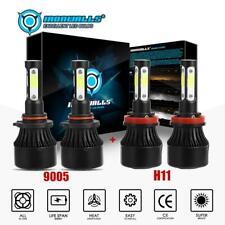 9005 H11 Combo LED Headlight Kit for Chevy Silverado 1500 2008 2009 High/Lo Beam