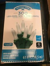 Holiday Time Mini Clear Bulbs Value Pack, 300ct