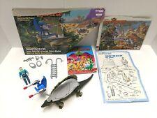 Dino Riders Series 2 Figure Set: Dimetrodon w/ Shado, 95% complete