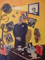 1945 Original Esquire Art WWII Era SAMUEL GOLDWYN