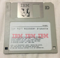 "IBM PS/1 Recovery Diskette 3.5"" Floppy Disk 1993 Version 3.0"