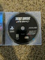 Test Drive: Off-Road (Sony PlayStation 1 PS1, 1997) Disc only. NICE