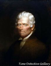 Frontiersman Daniel Boone Painting by Chester Harding -1820- Historic Art Print
