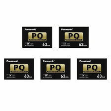 5 Panasonic Pro Mini DV Tape for Canon XL2 XL1 XH A1 A1S GL1 GL2 XL1S camcorder