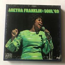 ARETHA FRANKLIN  Soul '69  ALX8212 Reel To Reel 3 3/4 IPS