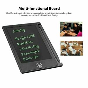 LCD 4.5inch Handwriting Writing Tablet Drawing Board for Children/Kid Notepad FY