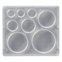 PADICO 404219 Resin Soft Mold Round Plate Accessories Material NEW from Japan