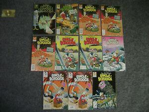 Lot of 11 Walt Disney's UNCLE SCROOGE 1993 NO. 274 - 280 SOME DUPLICATES - EXC!