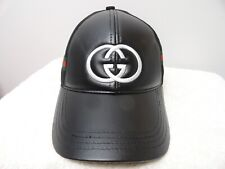 5fdae483cee6 Gucci Leather Baseball Caps Hats for Men for sale