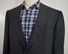 HART SCHAFFNER MARX mens gray SUPER 100'S WOOL sports coat jacket 46L 46 Long L