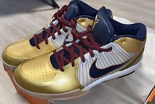 Nike Zoom Kobe IV Gold Medal OG Sz14 Kobe Bryant USA Olympics *True Kobe Size*