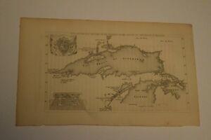 Map of Lake Superior 1670