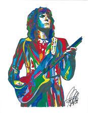 Chris Squire Yes Bass Guitar Singer Rock Music Poster Print Wall Art 8.5x11