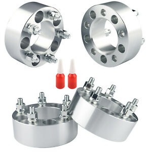 """(4) 2"""" Wheel Spacers 5x4.5 5x114.3 12x1.5 For Chevy Impala 2000-2013"""