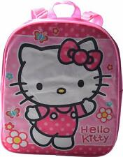 """Hello Kitty Girl Preschool Mini Backpack Toddler BookBag Kids Bag School 12"""" TOY"""
