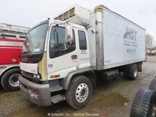 2002 Isuzu Ftr 20' Box Truck 7.8L L6 Turbo Diesel Lift Gate Refer -Parts/Repair