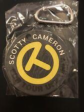 SCOTTY CAMERON PUTTING DISK Yellow Gray Circle T FTUO CT Tour NIB 2018 RARE Disc