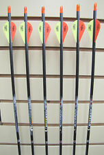 Easton Aftermath 340 Arrows - Blazer Vanes- 6 pack- Cut to length FREE!