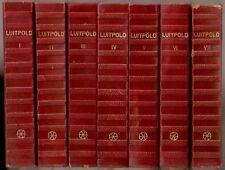 DAS STERNBILD Josef LUITPOLD Stern 7 Volumes Signed 1954 Wien Osterreich vtg old