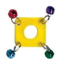 Prevue Pet Products Rainbow Mini Acrylic Perch Ring Small Bird Toy
