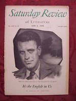 Saturday Review June 4 1949 GERALD W. JOHNSON MORRIS ERNST