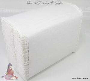 """New Dispenser Napkins Tall Fold 7x13 1/2"""" White Wholesale Lot of 250 Made in USA"""