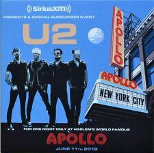 """U2 """"Live At Apollo 2018"""" (RARE CD+DVD)"""