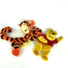 Tigger Winnie the Pooh Plush Wall Hanging Baby Nursery Decoration Set of 2