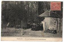 CPA 78 - RAMBOUILLET (Yvelines) - Parc du Pensionnat de la Sainte-Enfance (animé